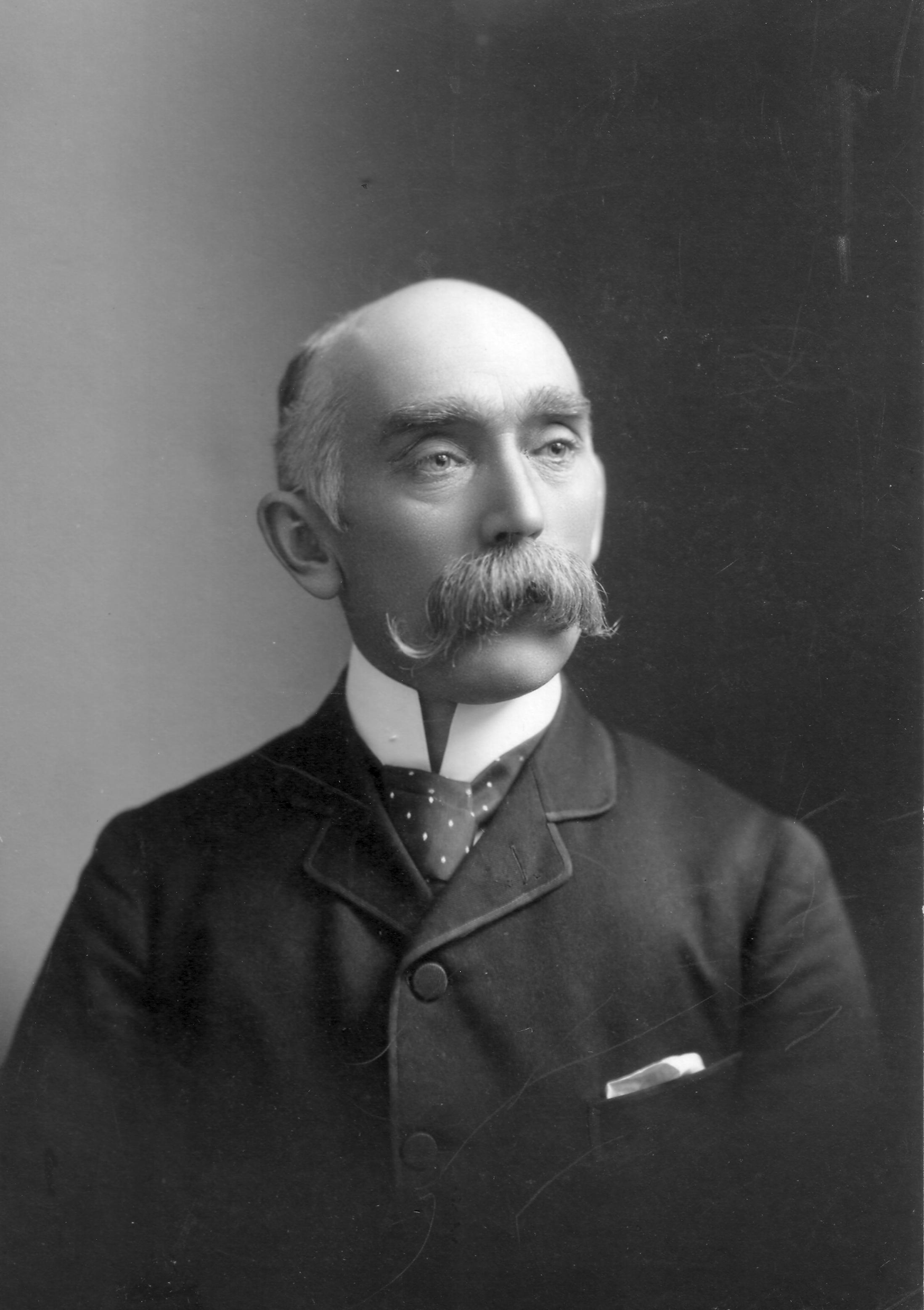 1899 portrait of Dr. Bryce by Lancefields of Ottawa. Photo courtesy of David G. Bryce.
