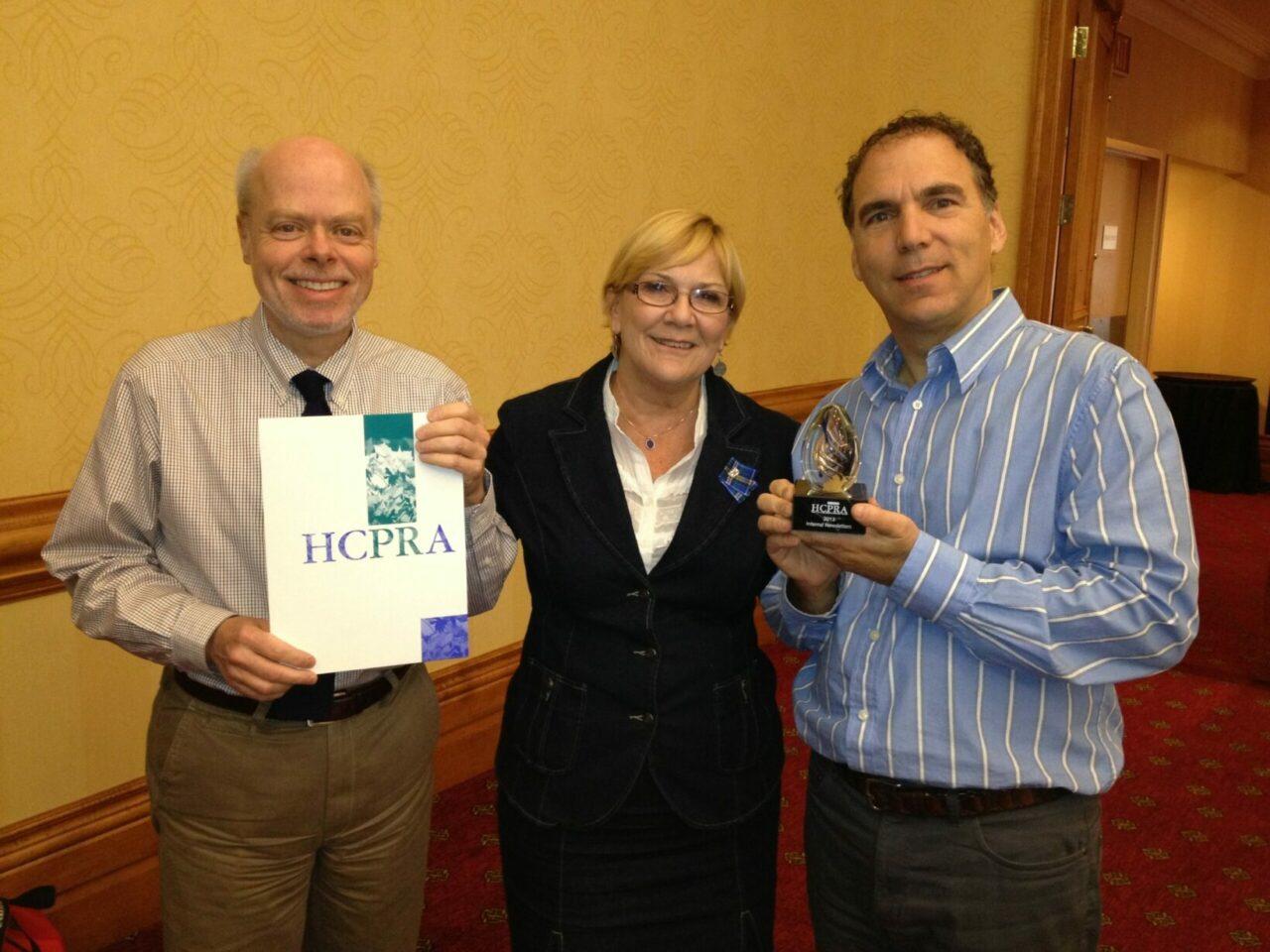 JGH winner of HCPRA - Prix Hygeia Award