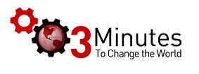 3min to change the world logo