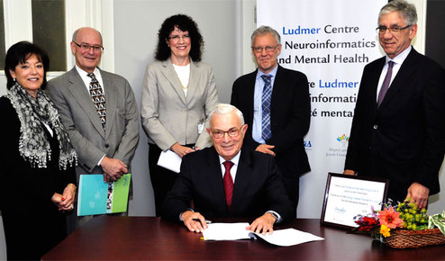 Ludmer donation - Douglas and JGH