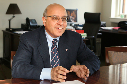 Provost Anthony Masi - Owen Egan