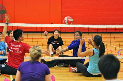 Sitting volleyball 1