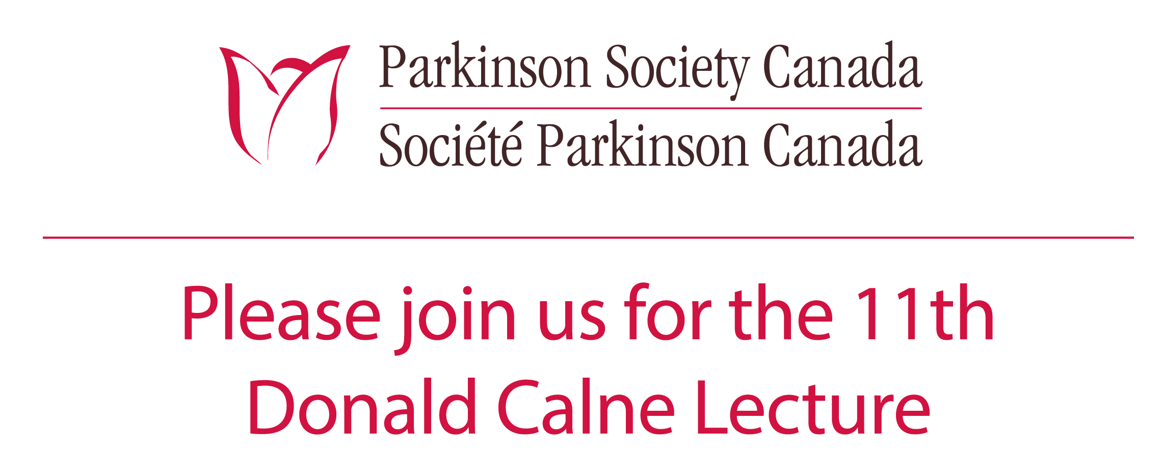 Donald Calne Lecture - May 26