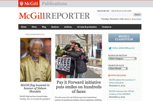 McGill Reporter by the numbers