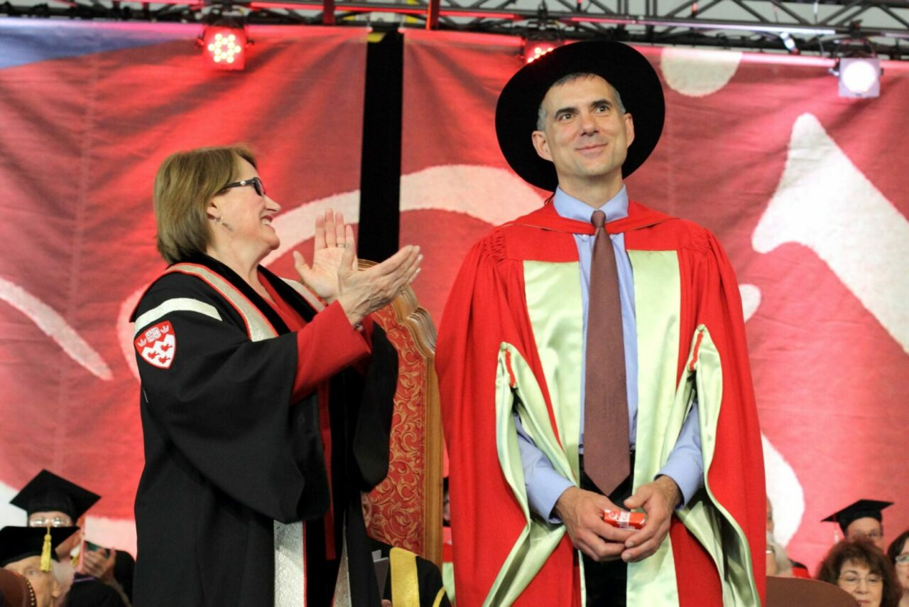 Dr. Brett Thombs (Photo: Owen Egan)