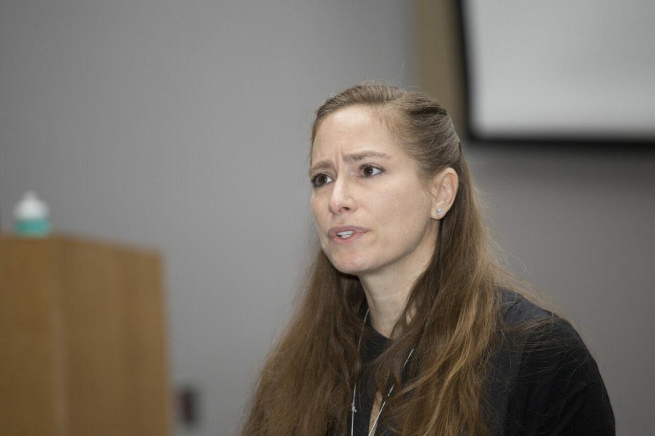 Susan Kovacs, MDCM'89, gave a talk on