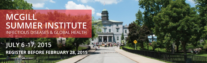 Global Health - McGill Summer Institute courses image