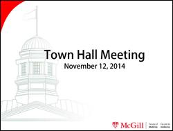 The Future of Medicine at McGill