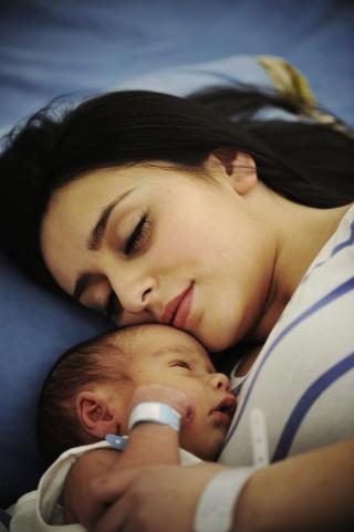 motherandchildsleeping
