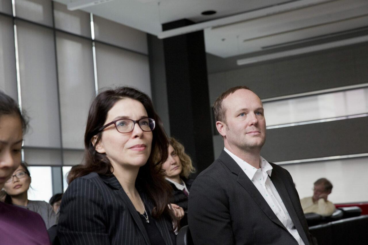 SCSD director: Prof. Marc Pell (right). Photo: Nicolas Morin.