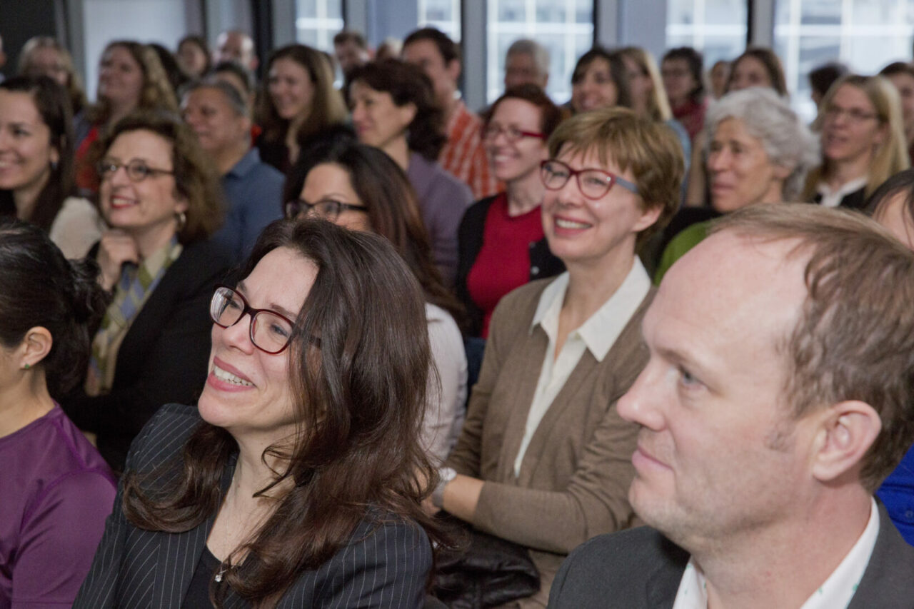 94 people attended the event, the first World Voice Day celebration in Quebec. Photo: Nicolas Morin