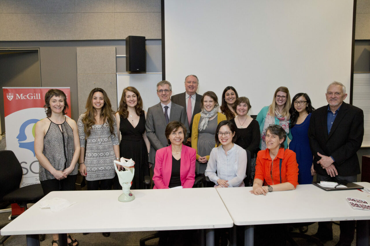World Voice Day presenters and students. Photo: Nicolas Morin