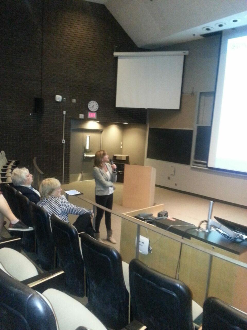 McGill survivorship expert, nurse-scientist Carmen Loiselle (Ingram School of Nursing). Photo: Annette Novak.