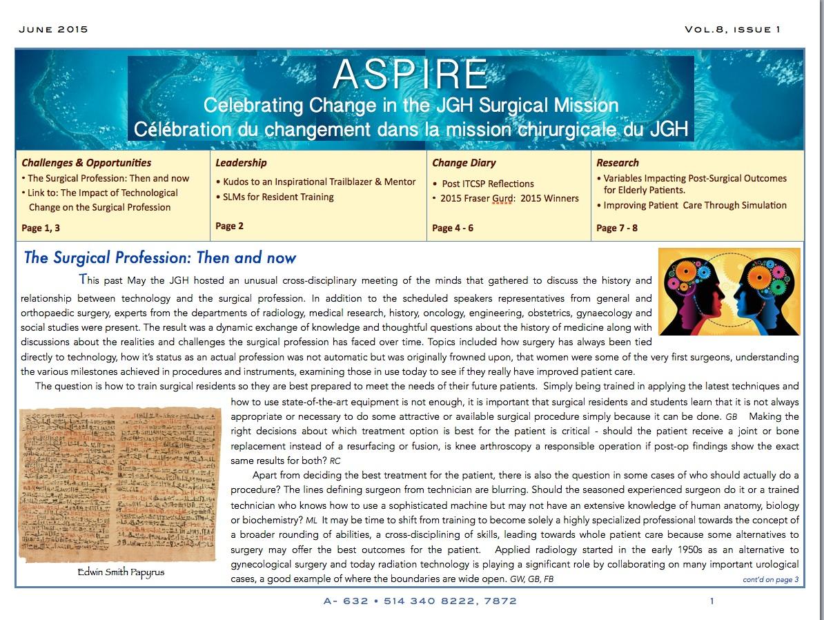 ASPIRE Newsletter -pg1-June 2015