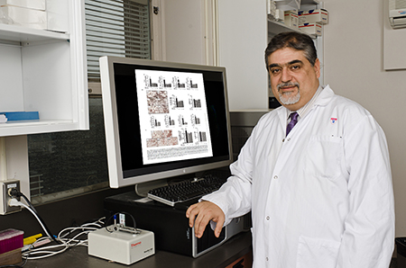Dr. Vassilios Papadopoulos, study's lead author and a researcher in the Experimental Therapeutics and Metabolism Program of the RI-MUHC (Photo: MUHC)