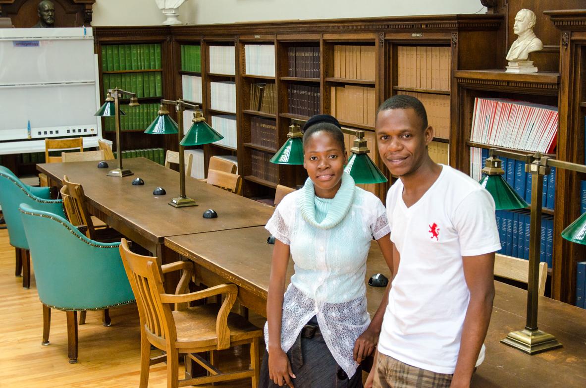 Haitian medical students at McGill-9378 SM