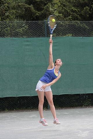 tennis-aufschlag