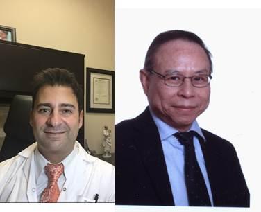 Dr. Haim Abenhaim (left) and Dr. Togas Tulandi.