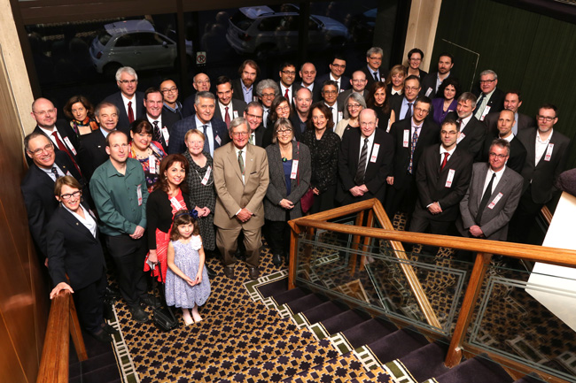 On March 31, the 11th annual Bravo gala celebrated McGill researchers who have won prizes and awards during the previous year. In all, 77 laureates were honoured. / Photo: Owen Egan