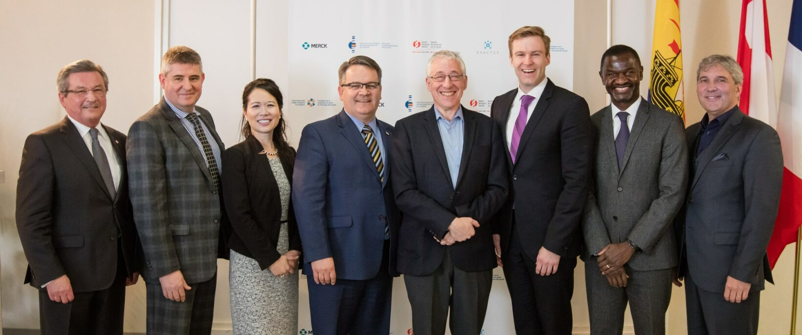 Government and industry representatives gathered this morning at the Dr. Georges-L.-Dumont University Hospital Centre in Moncton, New Brunswick, to announce a $4 million partnership in support of the