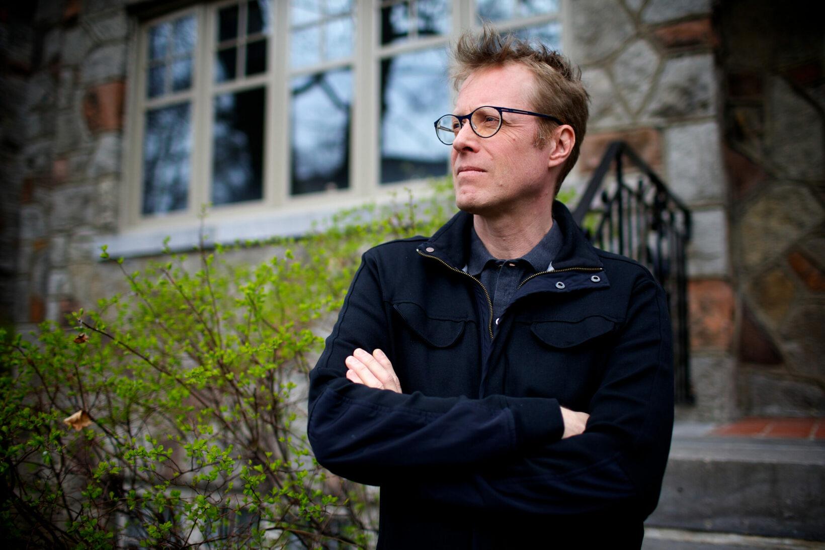 Associate professor of psychiatry Alain Brunet (Photo: Sarah Mongeau-Birkett)