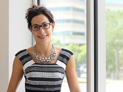 Dr. Gizelle Popradi, hematologist and director of the MUHC Stem Cell Transplant Program. / Photo: Gilda Salomone