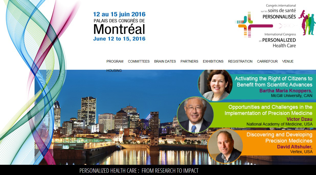 INternationl congress personalized health care cropped