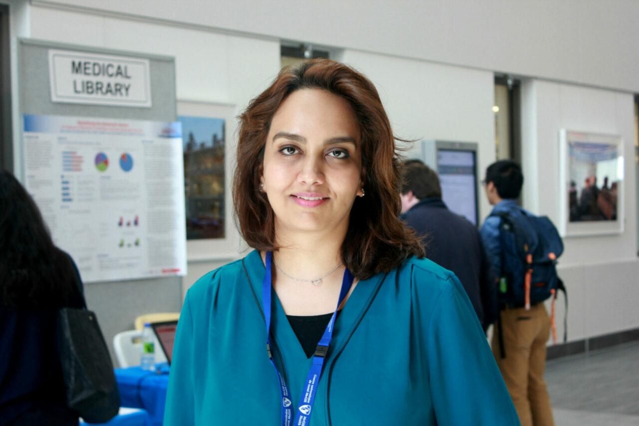 Sara Aldekhyl, ICU fellow. (Photo: Patricia Vasquez, MUHC)