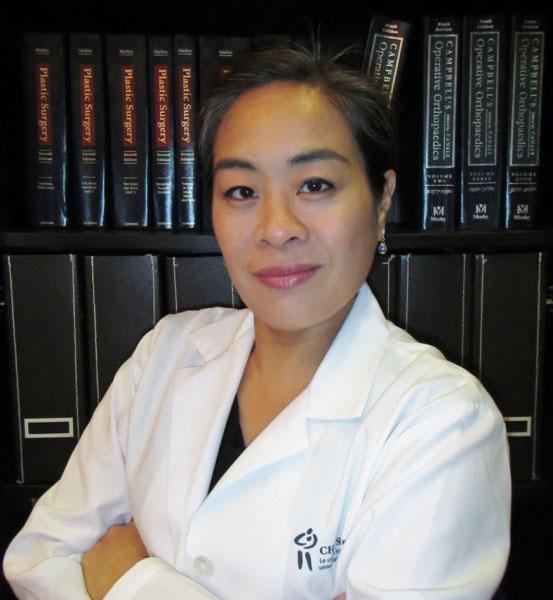 Dr. Jenny C. Lin is the research director of Plastic Surgery at Université de Montréal.