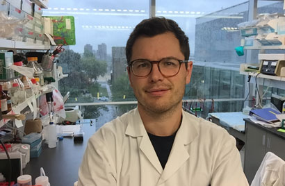 Paul Savage is in his sixth year in McGill's MD-PhD program.