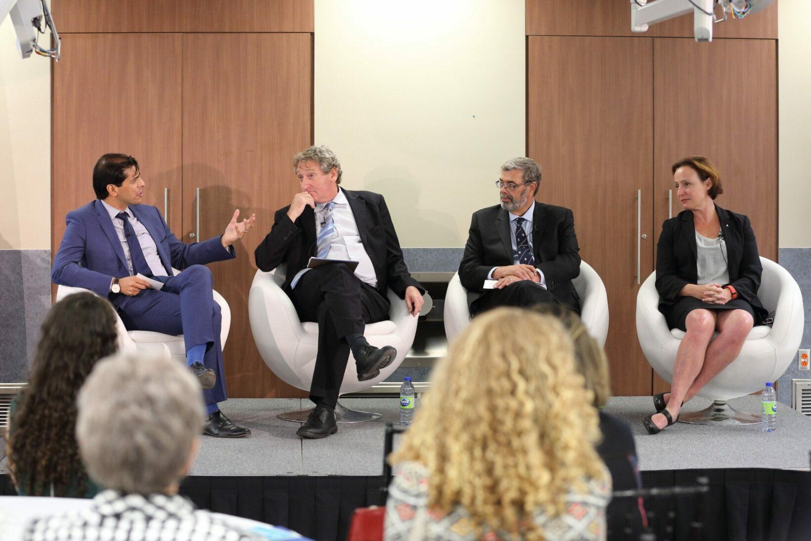 Panel symposium (Photo: Owen Egan)