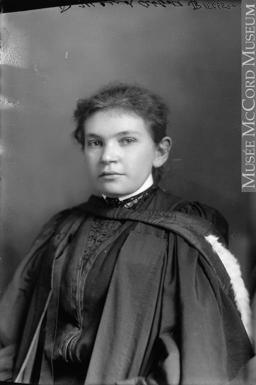 Wm. Notman & Son, Dr. Maude Abbott. Montreal, QC, 1904, 17 x 12 cm. From: McCord Museum, M9 II-150659