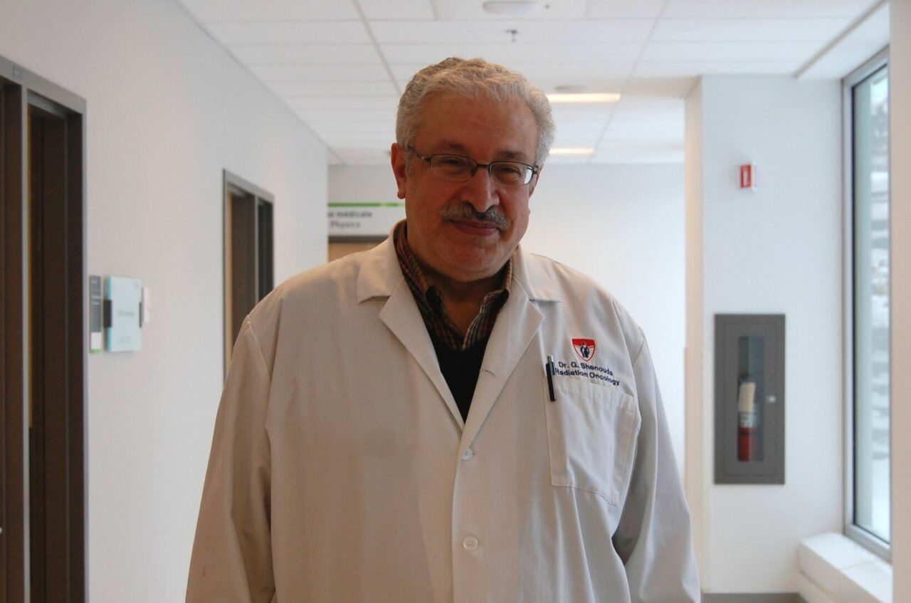 Dr. George Shenouda, radio-oncologist and researcher at the RI-MUHC and lead author of the study