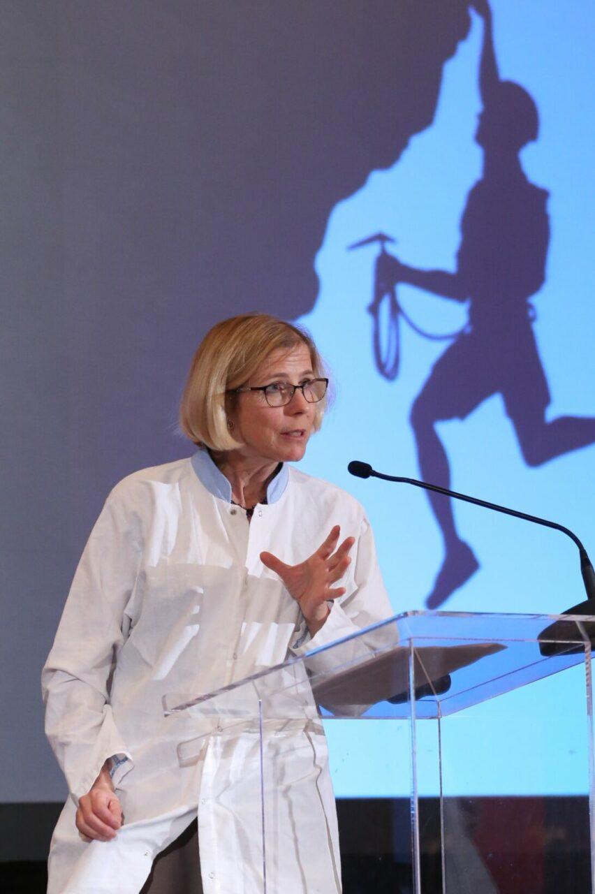 Katrine Kirk, the World Health Organization Patient Safety Champion (Photo: Owen Egan)